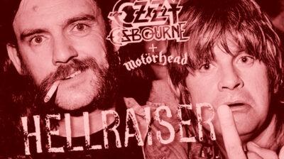 Ouça a nova versão de 'Hellraiser' de Ozzy Osbourne com Lemmy